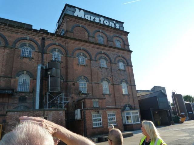 Marstons Brewery Burton upon Trent
