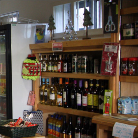 The Village Shop - Products on display